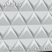 AM3105 3D-панель для стен