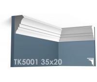 ТК5001 Карниз гладкий из гипса АртМодуль h35x20