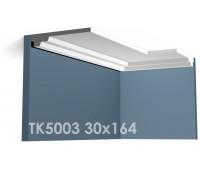 ТК5003 Карниз гладкий из гипса АртМодуль h30х164