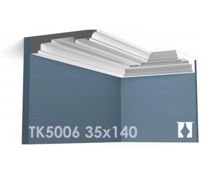 ТК5006 Карниз гладкий из гипса АртМодуль h35х140