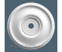 ТР5001 потолочная розетка из гипса АртМодуль D280мм