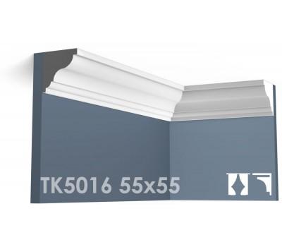 ТК5016 Карниз гладкий из гипса АртМодуль h55х55