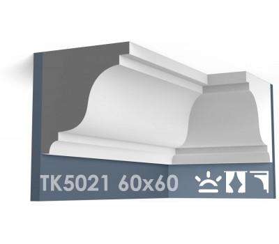 ТК5021 Карниз гладкий из гипса АртМодуль h60х60