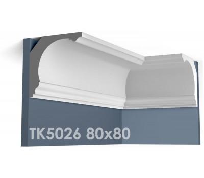 ТК5026 Карниз гладкий из гипса АртМодуль hh80х80
