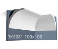 ТК5031 Карниз гладкий из гипса АртМодуль hh100х100