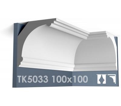ТК5033 Карниз гладкий из гипса АртМодуль hh100х100