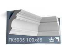 ТК5035 Карниз гладкий из гипса АртМодуль hh100х65
