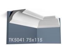 ТК5041 Карниз гладкий из гипса АртМодуль hh75х115