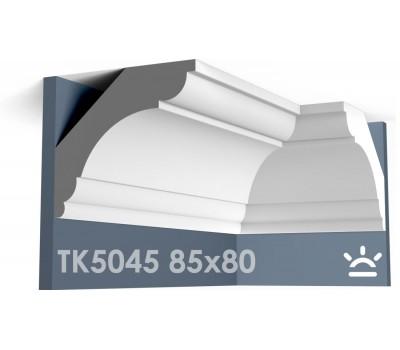 ТК5045 Карниз гладкий из гипса АртМодуль hh80х85