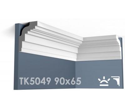 ТК5049 Карниз гладкий из гипса АртМодуль hh90х65
