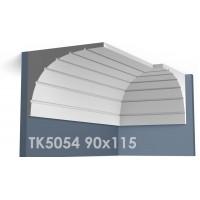 ТК5054 Карниз гладкий из гипса АртМодуль hh90х115