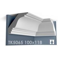 ТК5065 Карниз гладкий из гипса АртМодуль hh100х118