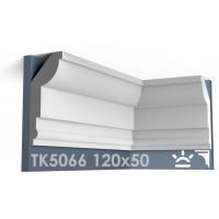 ТК5066 Карниз гладкий из гипса АртМодуль hh120x50