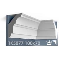 ТК5077 Карниз гладкий из гипса АртМодуль hh100х70