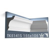 ТК5141S Карниз из гипса для подсветки АртМодуль h155x105