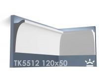 ТК5512 Карниз из гипса для подсветки АртМодуль h120x50