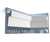ТК5516 Карниз из гипса для подсветки АртМодуль h140x50
