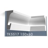 ТК5517 Карниз из гипса для подсветки АртМодуль h150x60