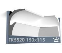 ТК5520 Карниз из гипса для подсветки АртМодуль h150x115