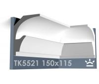 ТК5521 Карниз из гипса для подсветки АртМодуль h150x115