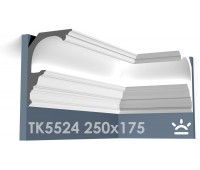 ТК5524 Карниз из гипса для подсветки АртМодуль h250x175