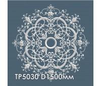 ТР5030 потолочная розетка из гипса АртМодуль D1500мм