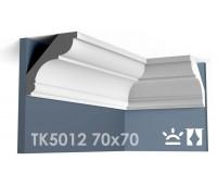 ТК5012 Карниз гладкий из гипса АртМодуль h70х70