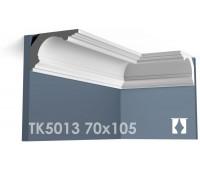ТК5013 Карниз гладкий из гипса АртМодуль h70х105