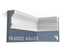 ТК5022 Карниз гладкий из гипса АртМодуль 65х25