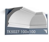ТК5027 Карниз гладкий из гипса АртМодуль hh100х100