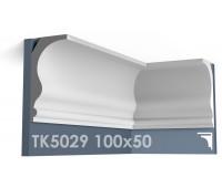 ТК5029 Карниз гладкий из гипса АртМодуль hh100х50