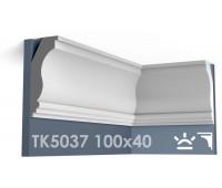 ТК5037 Карниз гладкий из гипса АртМодуль hh100x40