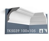 ТК5039 Карниз гладкий из гипса АртМодуль hh100х105