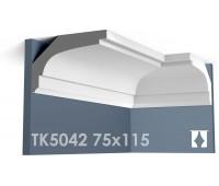 ТК5042 Карниз гладкий из гипса АртМодуль hh75х115