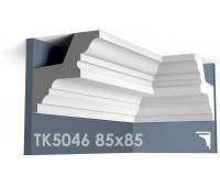 ТК5046 Карниз гладкий из гипса АртМодуль hh85х85