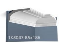 ТК5047 Карниз гладкий из гипса АртМодуль hh85x185