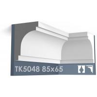 ТК5048 Карниз гладкий из гипса АртМодуль hh85х65