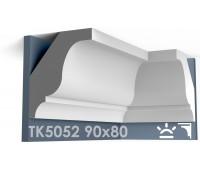 ТК5052 Карниз гладкий из гипса АртМодуль hh90х80