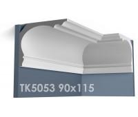 ТК5053 Карниз гладкий из гипса АртМодуль hh90х115
