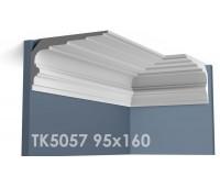 ТК5057 Карниз гладкий из гипса АртМодуль hh95х160