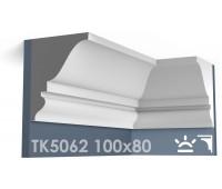ТК5062 Карниз гладкий из гипса АртМодуль hh100х80