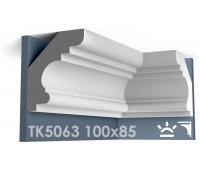 ТК5063 Карниз гладкий из гипса АртМодуль hh100х85