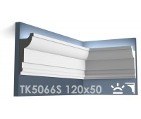 ТК5066S Карниз из гипса для подсветки АртМодуль h120x50