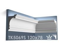 ТК5069S Карниз из гипса для подсветки АртМодуль h120x78