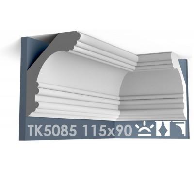 ТК5085 Карниз гладкий из гипса АртМодуль hh115x90