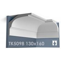 ТК5098 Карниз гладкий из гипса АртМодуль hh130x160