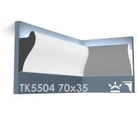 ТК5504 Карниз из гипса для подсветки АртМодуль h70x35