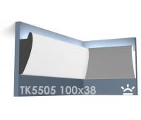 ТК5505 Карниз из гипса для подсветки АртМодуль h100x38