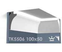 ТК5506 Карниз из гипса для подсветки АртМодуль h100x50