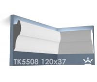 ТК5508 Карниз из гипса для подсветки АртМодуль h120x37